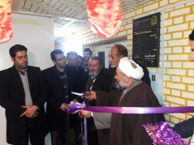 افتتاح کتابخانه کانون شهدای خیبر همزمان با ایام الله دهه فجر