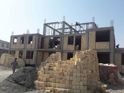 پیشرفت ۴۵درصدی پروژه احداث ساختمان مرکز سلامت واورژانس ۱۱۵ دیزج دیز
