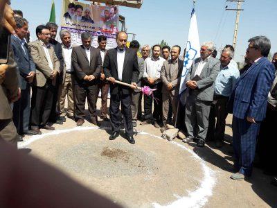 کلنگ زنی پروژه زیرسازی و آسفالت کمربندی ۲۸ متری و معابر شطح شهر دیزج دیز
